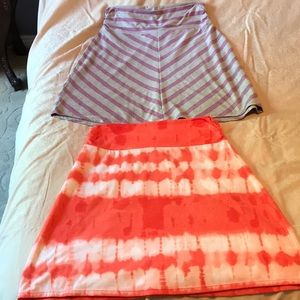 2 Faded Glory skirts GUC